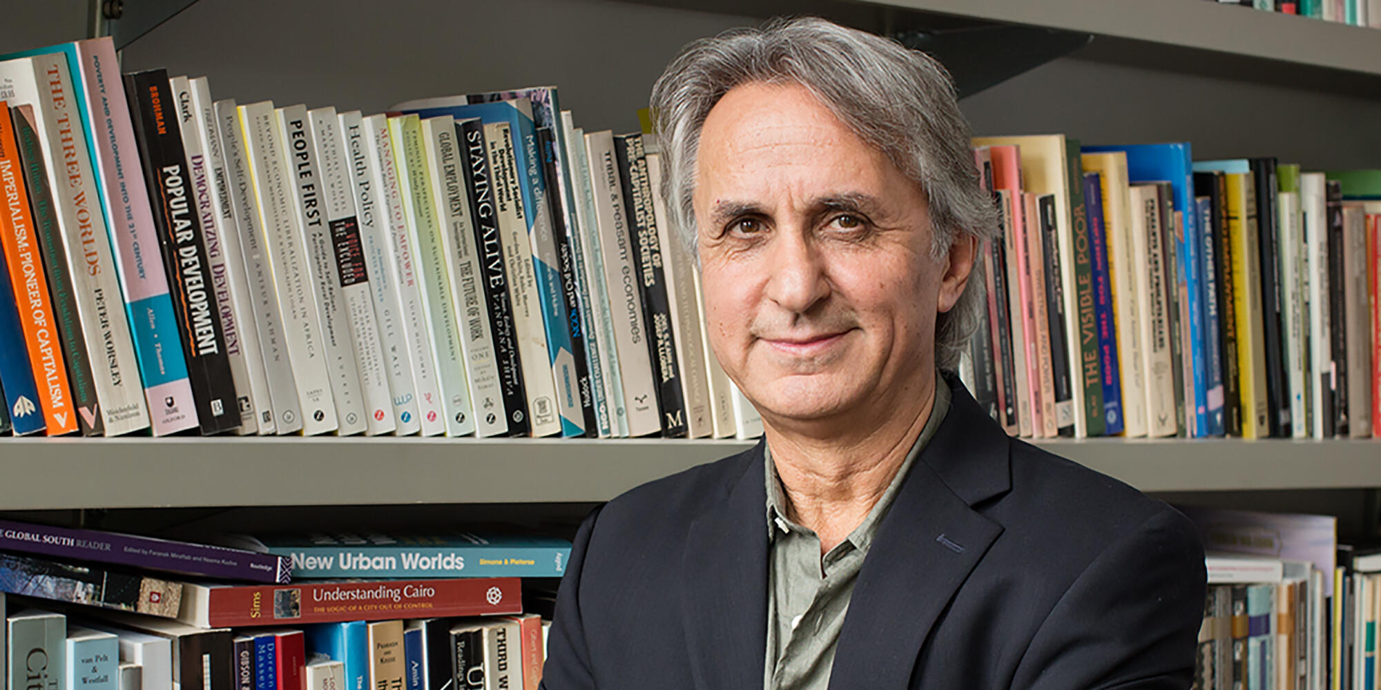 U. of I. sociology professor Asef Bayat
