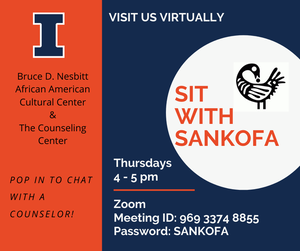 Sit with Sankofa Graphic